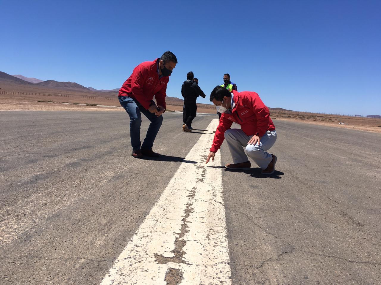 MOP inició conservación global en aeródromos de Taltal y Tocopilla