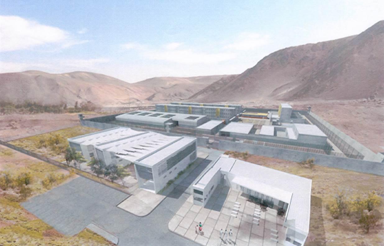 MOP llama a licitación diseño de nuevo complejo penitenciario para Calama
