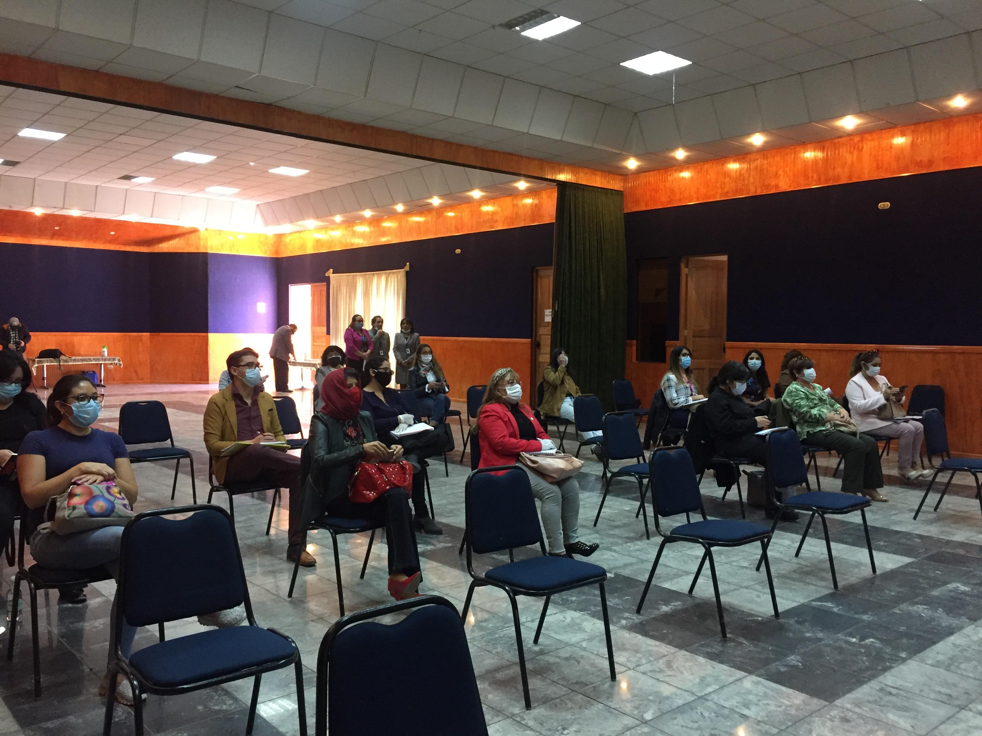 Equipos de convivencia escolar de Comdes trabajan en una sola línea para el acompañamiento de los alumnos y sus familias