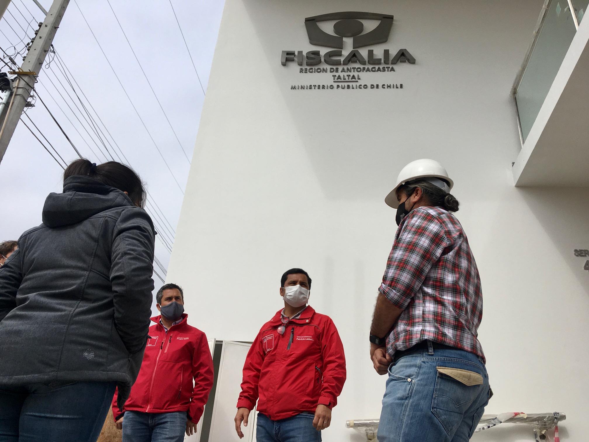 MOP INSPECCIONA CONSTRUCCIÓN DE NUEVA FISCALÍA DE TALTAL