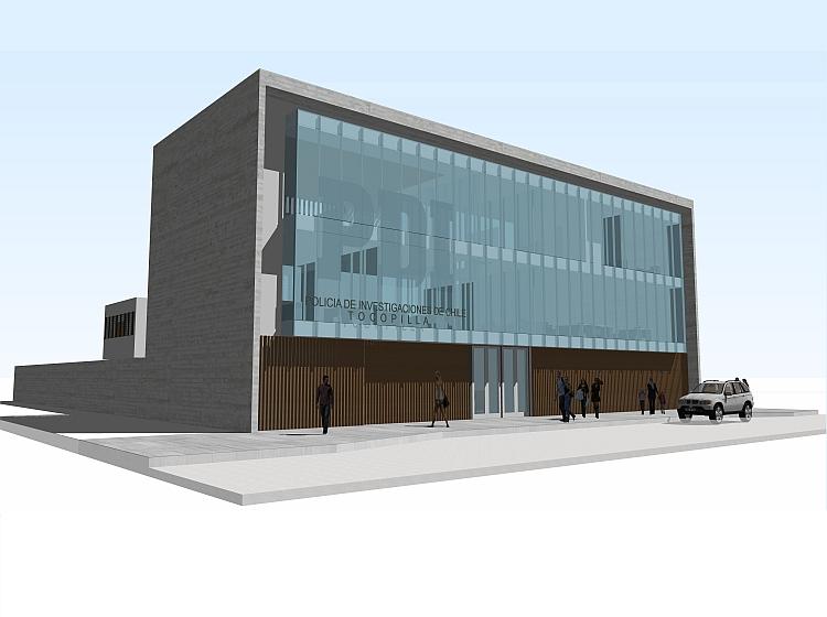 MOP anuncia construcción de nuevo cuartel de Prefectura PDI en Tocopilla