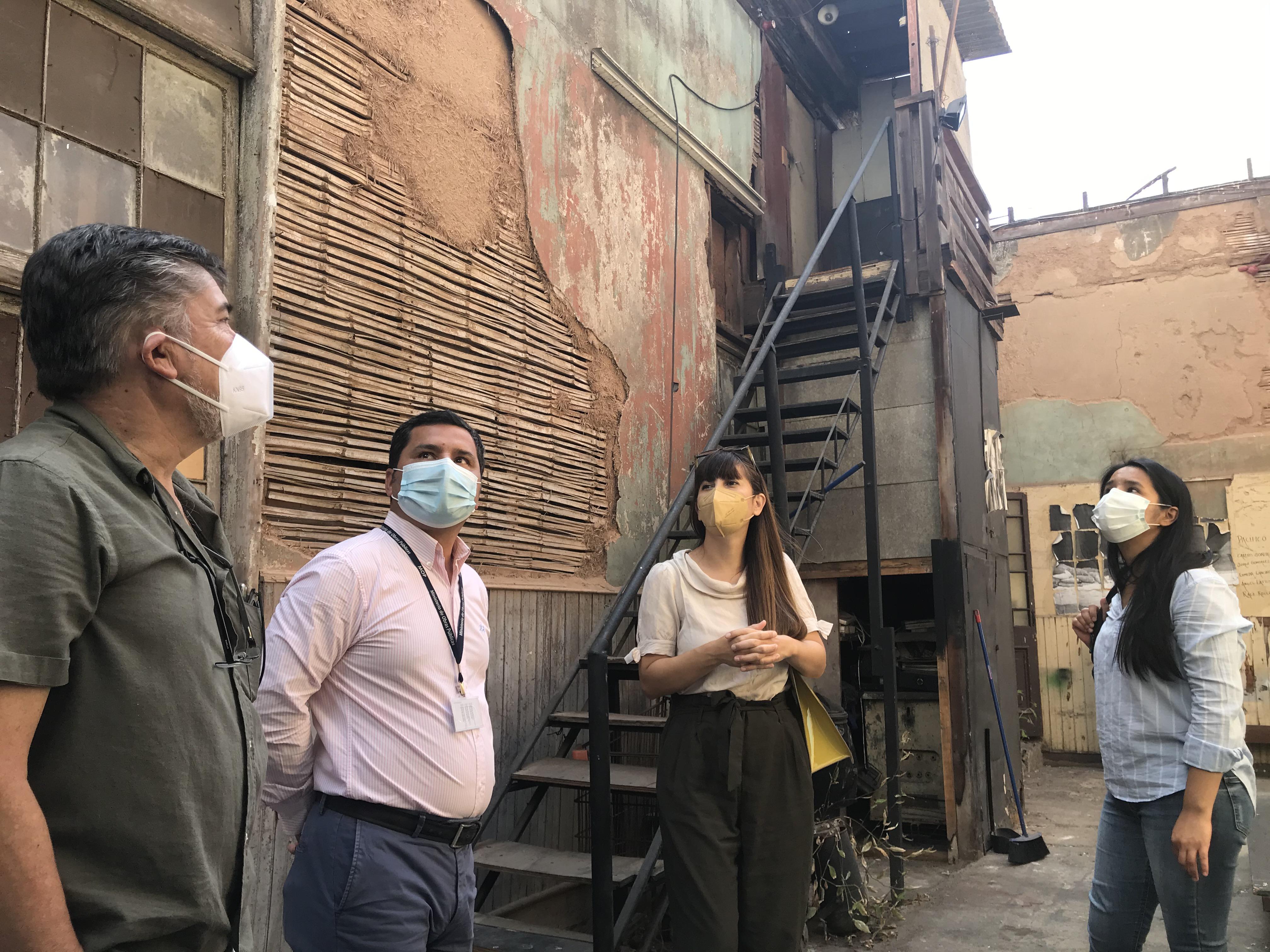Restauración Teatro Pedro de la Barra contará con recuperación de maderas y monitoreo arqueológico