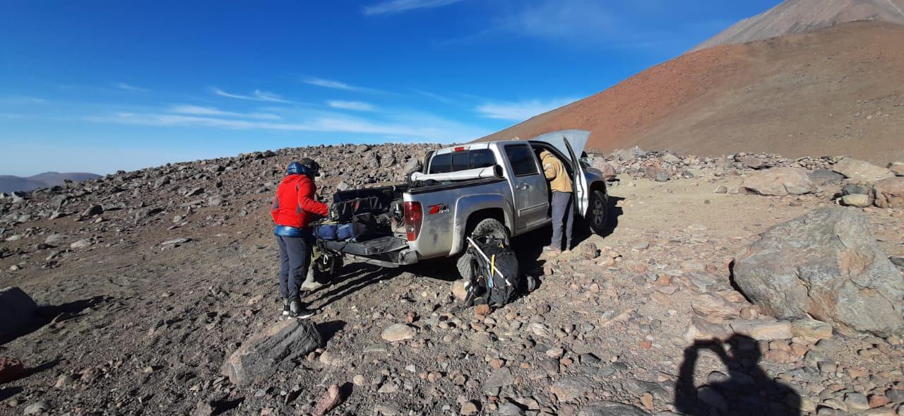Carabineros rescata a tres excursionistas con problemas a 4.657 metros de altura