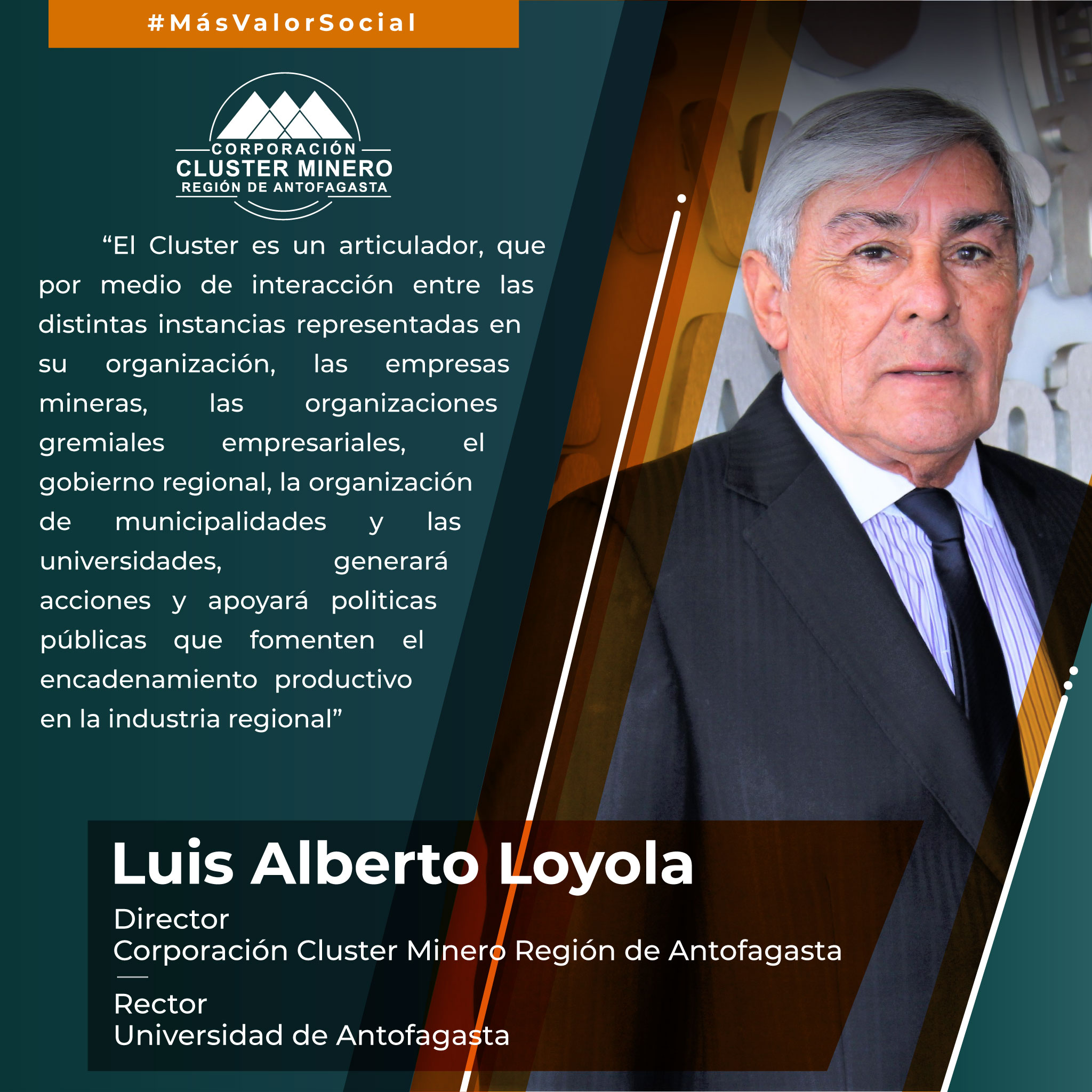 """Rector de la UA: """"El Clúster generará acciones y apoyará políticas públicas que fomenten el encadenamiento productivo en la industria regional"""""""