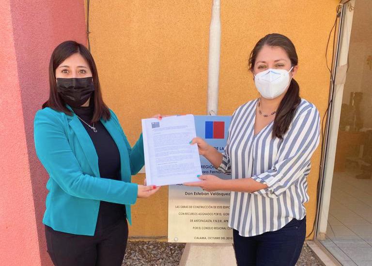 Una de las diez consejeras que integrará el Cosoc 2021-2022 de SernamEG trabaja en Calama