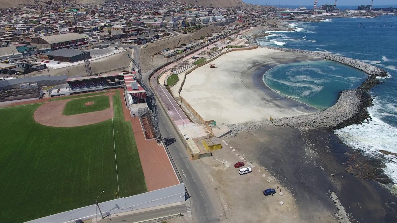 El primer trimestre de 2021 MOP entregará nuevo borde costero en playa El Salitre