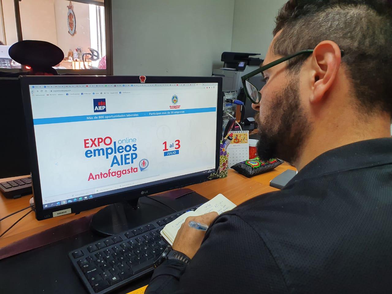 PRIMERA EXPO EMPLEOS ONLINE SE VIVIRÁ EN ANTOFAGASTA