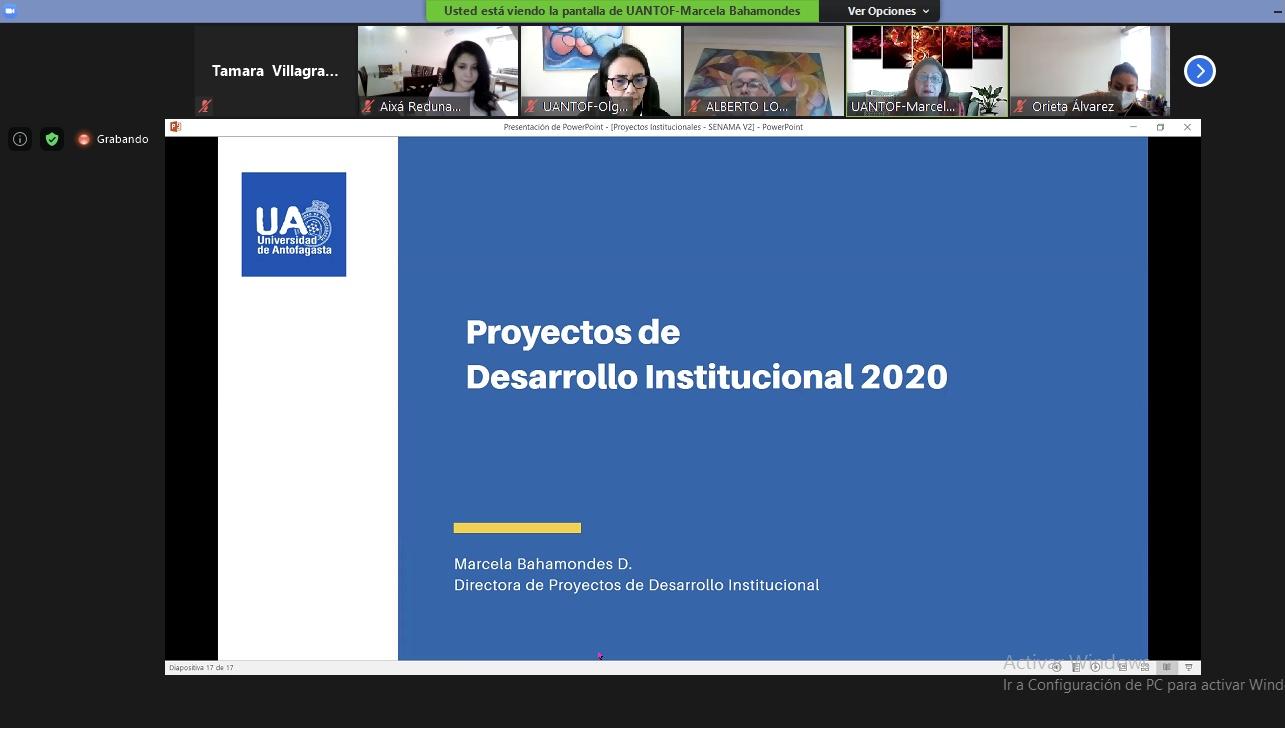 U. de Antofagasta destacó proyectos institucionales y de vinculación  con el medio en 11º Mesa Intersectorial
