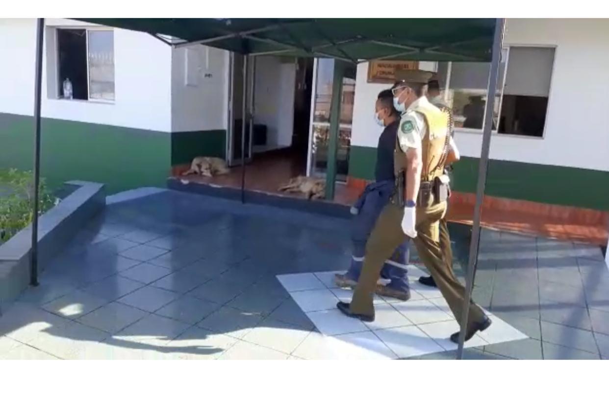 Carabineros detiene a sujeto por el Delito de Amenazas con Arma de Fuego en la Vía Pública