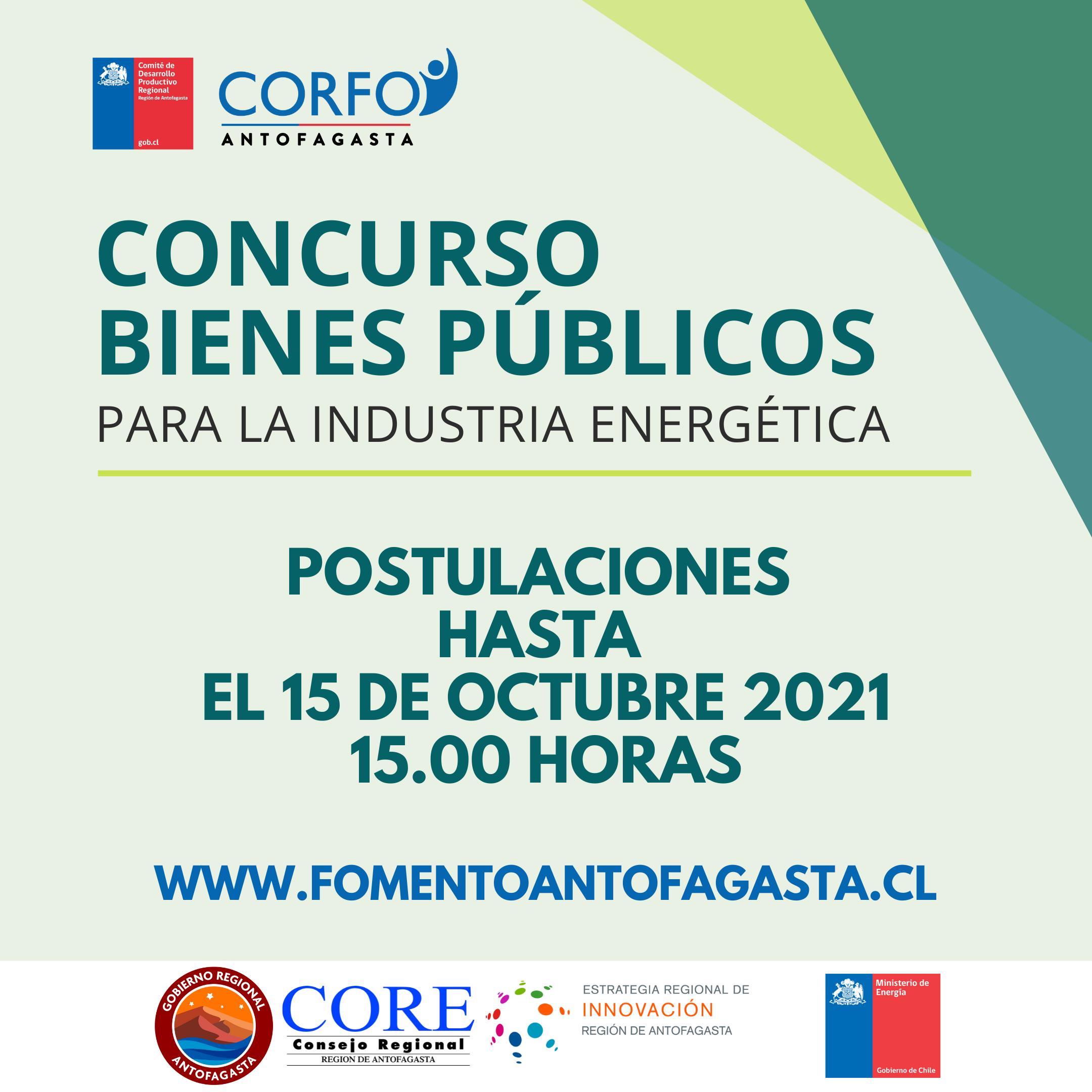 Comité CORFO abre concurso para mejorar la competitividad y desarrollo sostenible de la industria energética