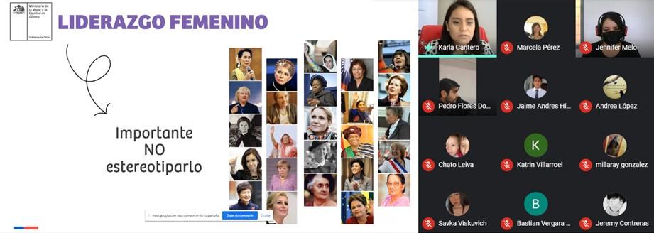Seremi de la Mujer da inicio a ciclo de charlas de liderazgo femenino