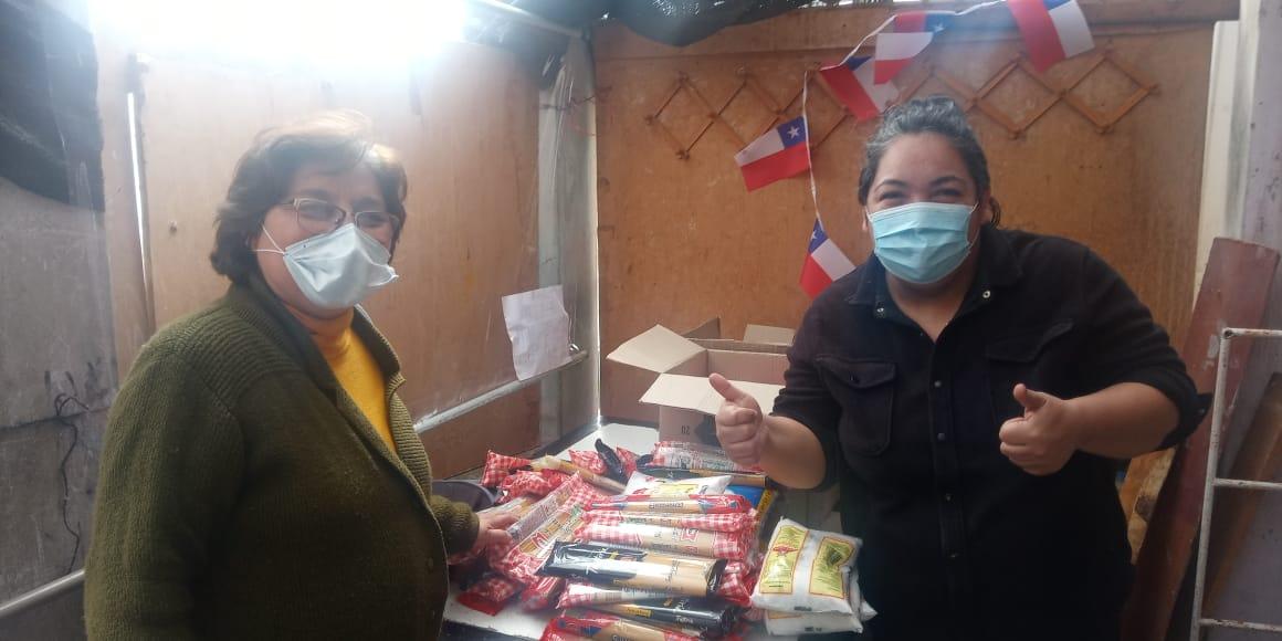 Campaña solidaria entrega 100 nuevas cajas de alimentos