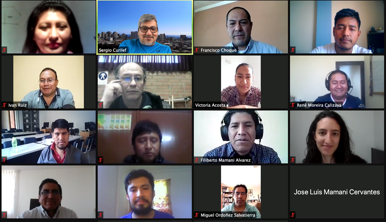 Estudiantes de Bolivia y Colombia desarrollan formación de postgrado online