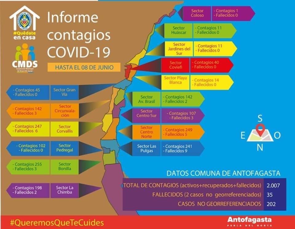 CMDS LANZA MAPA DE GEORREFERENCIACIÓN DE CASOS COVID EN LA COMUNA