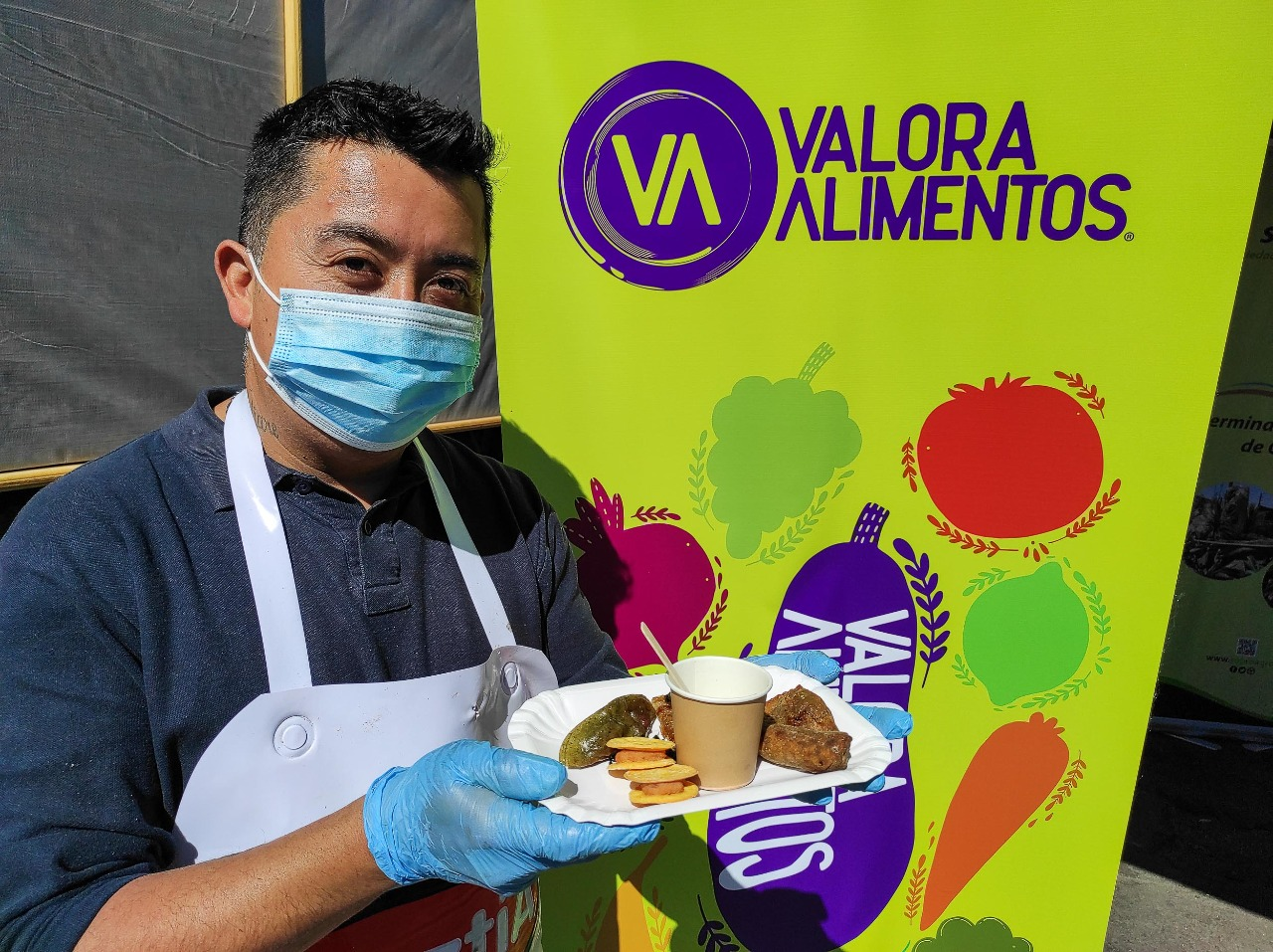 Alimentos recuperados en la Vega se  transforman en nutritivas preparaciones