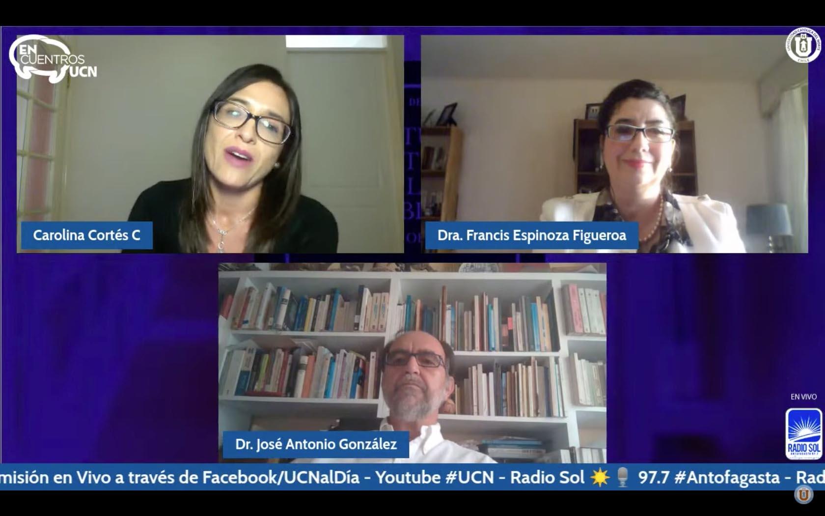 """""""Encuentros UCN"""": Expertos abordaron el proceso constituyente"""