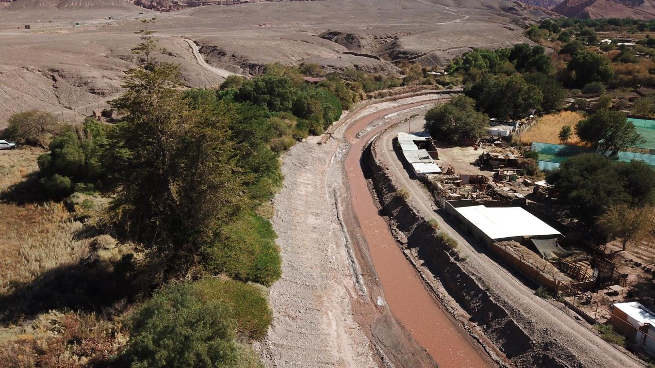 MOP realizó exitosa recepción de oferentes para ejecución de obras en riberas y cauces de San Pedro de Atacama