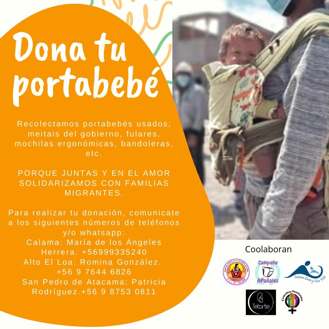 Inician campaña Dona tu Portabebé