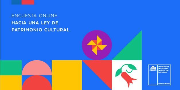 Ministerio de las Culturas impulsa Encuesta Online sobre proyecto de Ley de Patrimonio Cultural