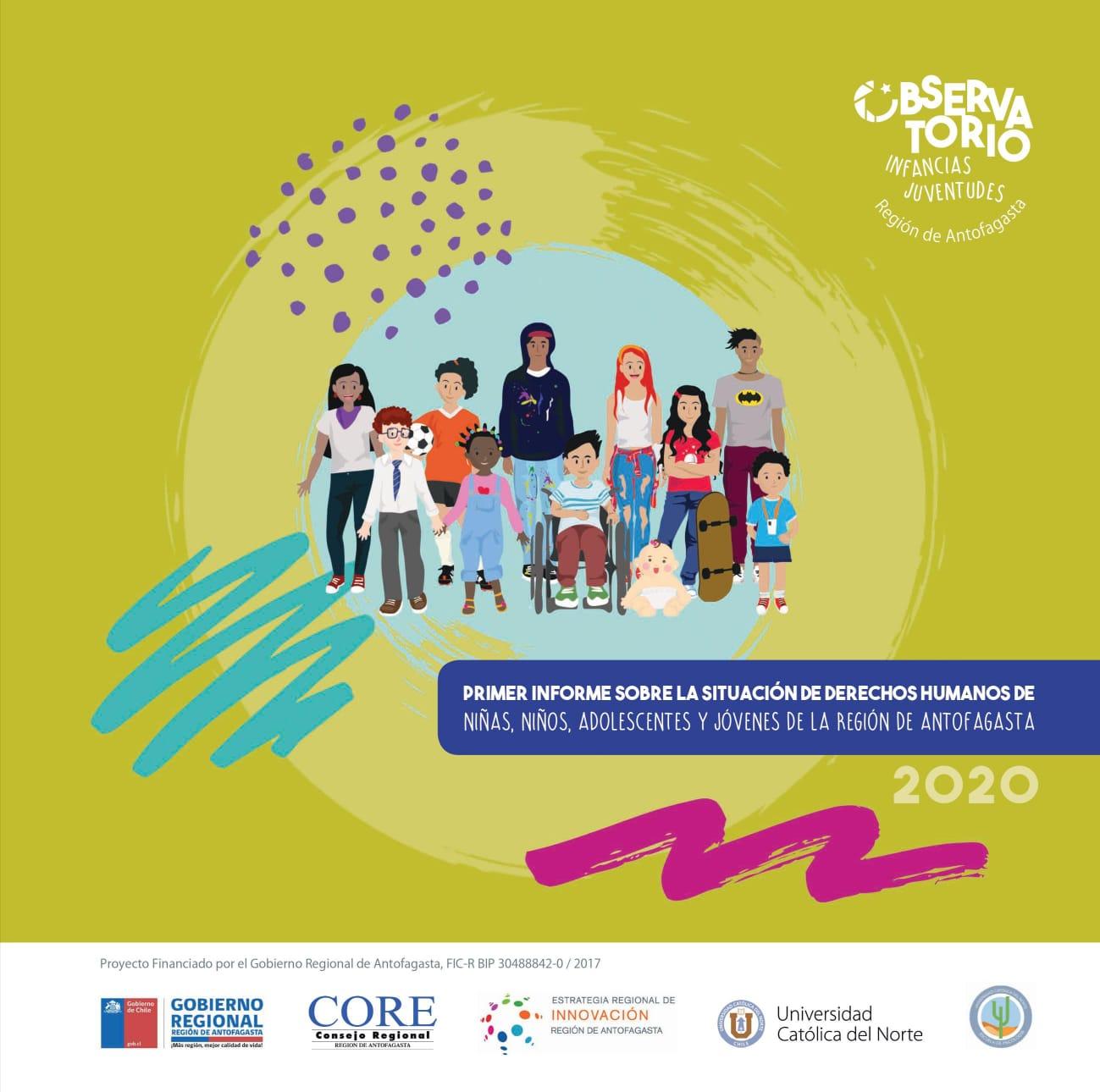 Preocupante informe sobre DD. HH. de niñas, niños, adolescentes y jóvenes de Antofagasta