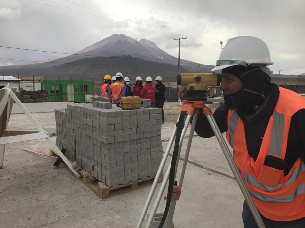 MOP fiscaliza construcción de nueva tenencia en ruta limítrofe