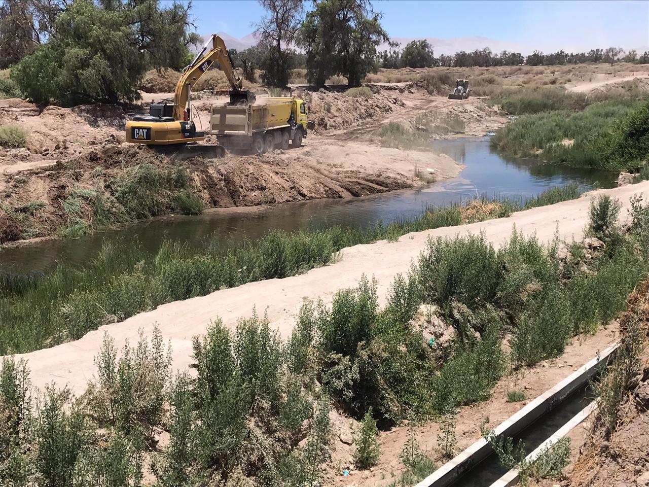 MOP constató positivo avance en limpieza y mejoramiento del río Loa en su paso por Calama