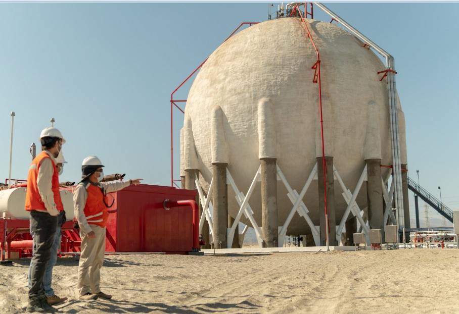 Seremi de Energía conoció nuevo terminal de GLP ubicado en Mejillones