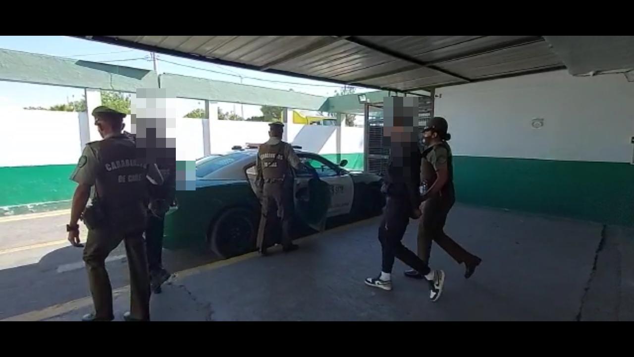 Tres detenidos por robo de especies  y robo frustrado