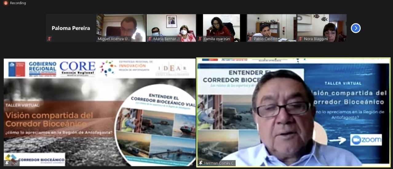 Autoridades regionales analizaron visión compartida del corredor bioceánico