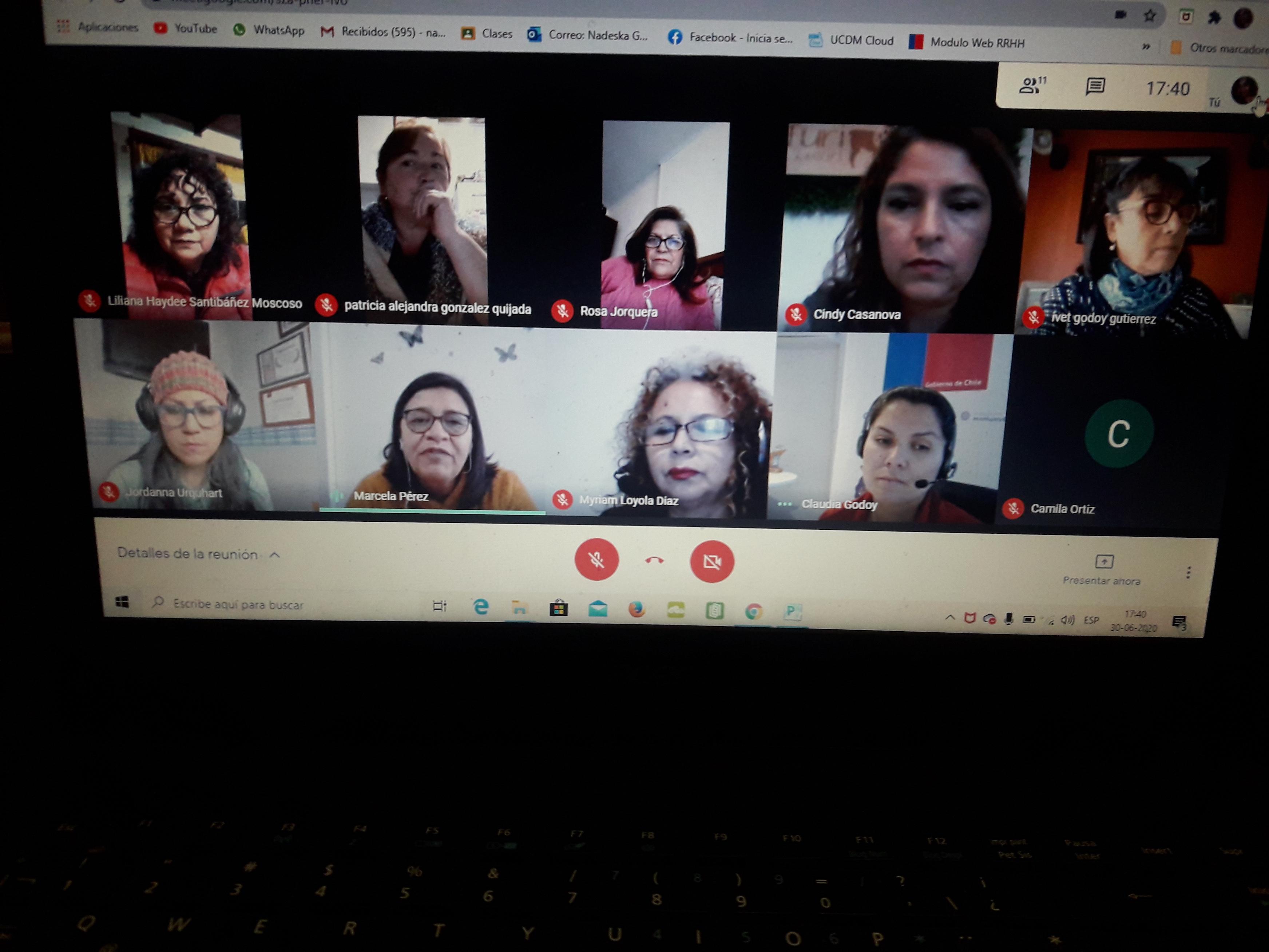 SEREMI CONOCE REALIDAD DE MUJERES EMPRENDEDORAS EN CONVERSATORIO VIRTUAL