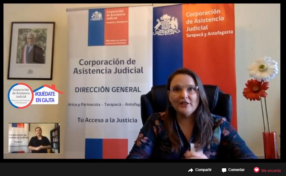 47 MIL PERSONAS ATENDIÓ LA CORPORACIÓN DE ASISTENCIA JUDICIAL DURANTE EL 2019