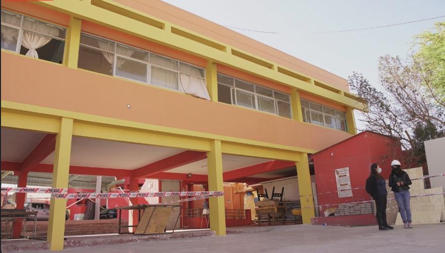 Proyecto de conservación de la escuela E-31 de Calama recibirá aumento de recursos para término obras