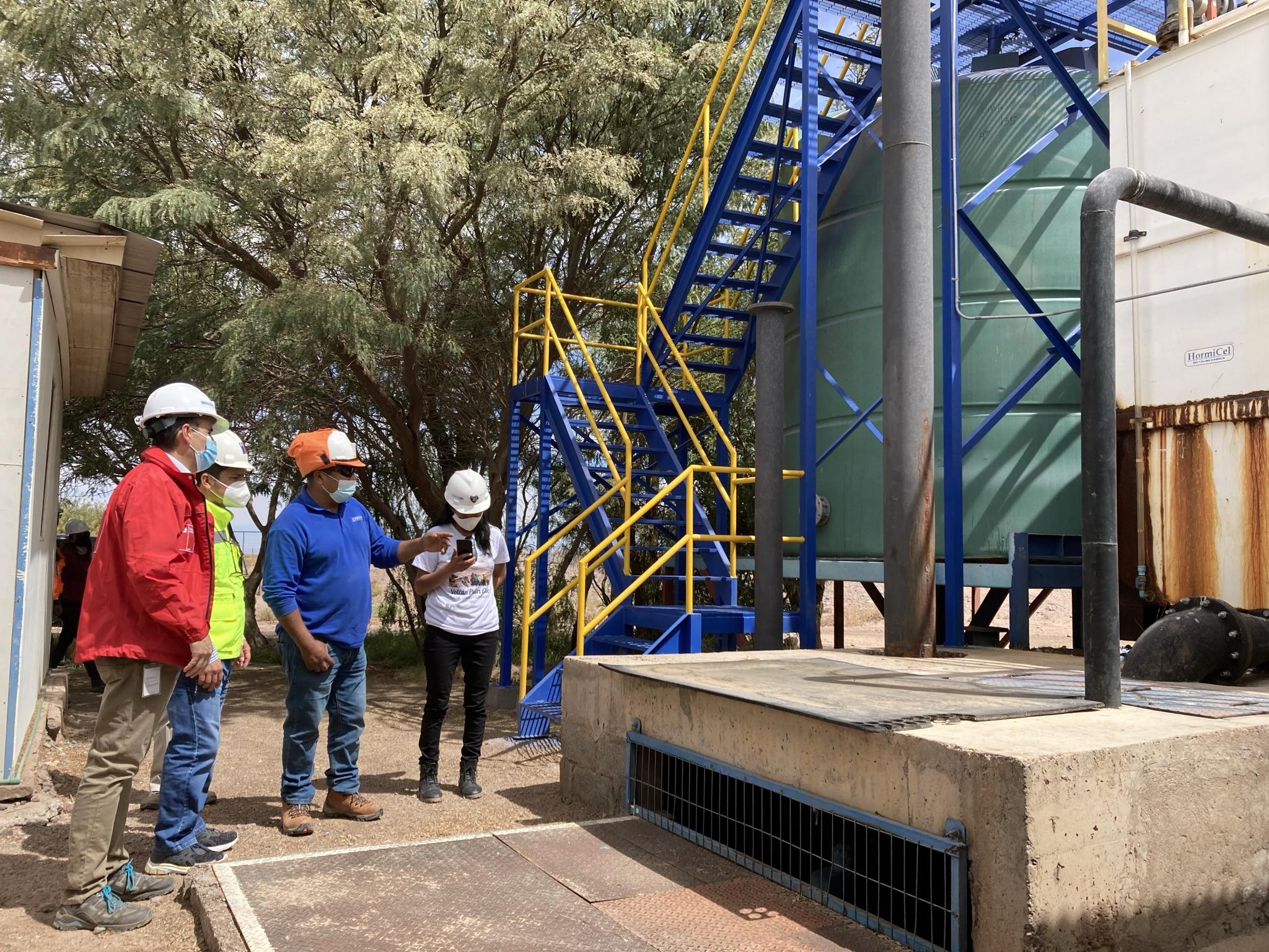 MOP ejecutará Importante conservación a sistema de Agua Potable Rural de San Pedro de Atacama
