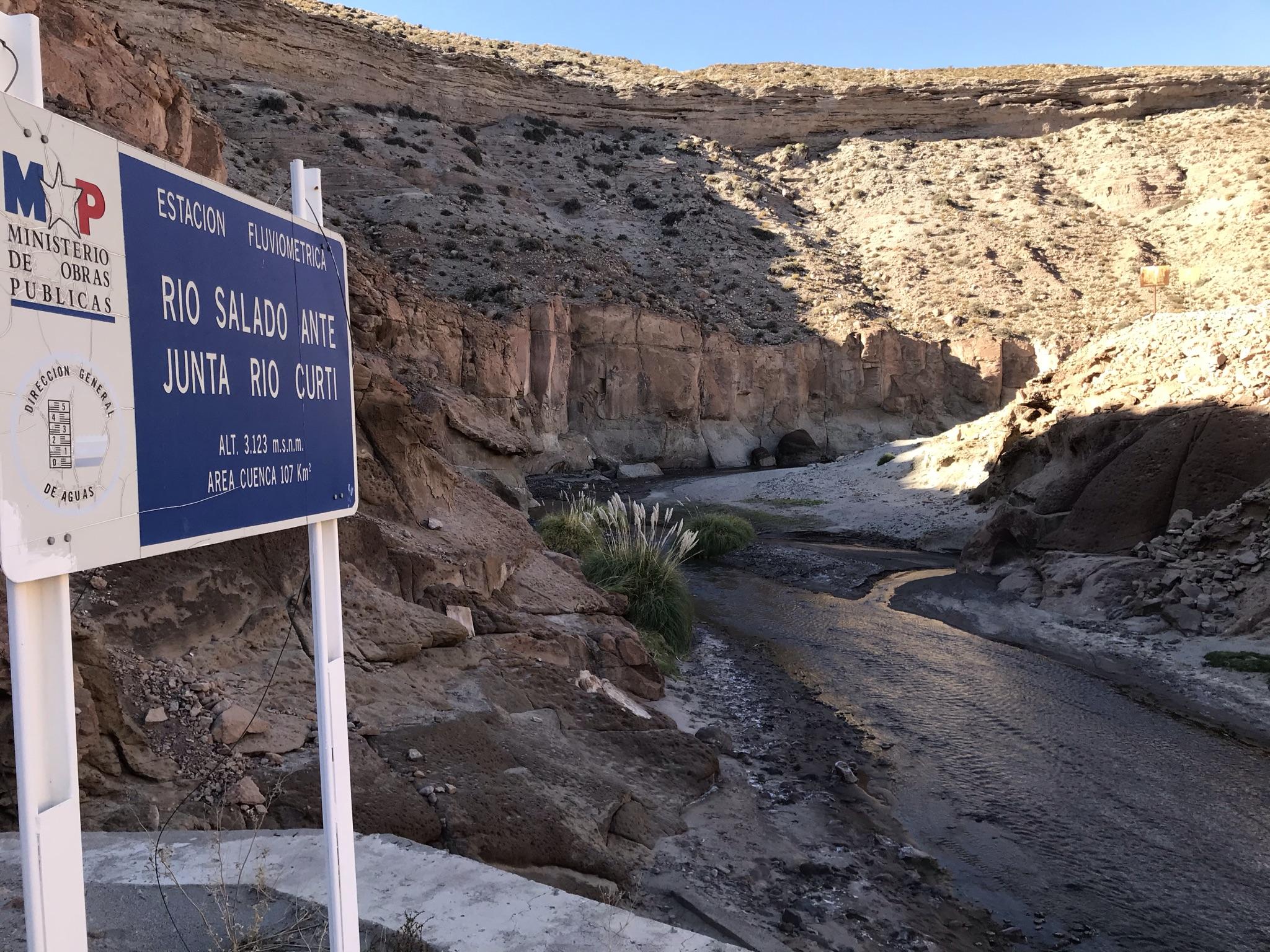 En la semana del Agua MOP anuncia reposición de estación fluviométrica en río Salado