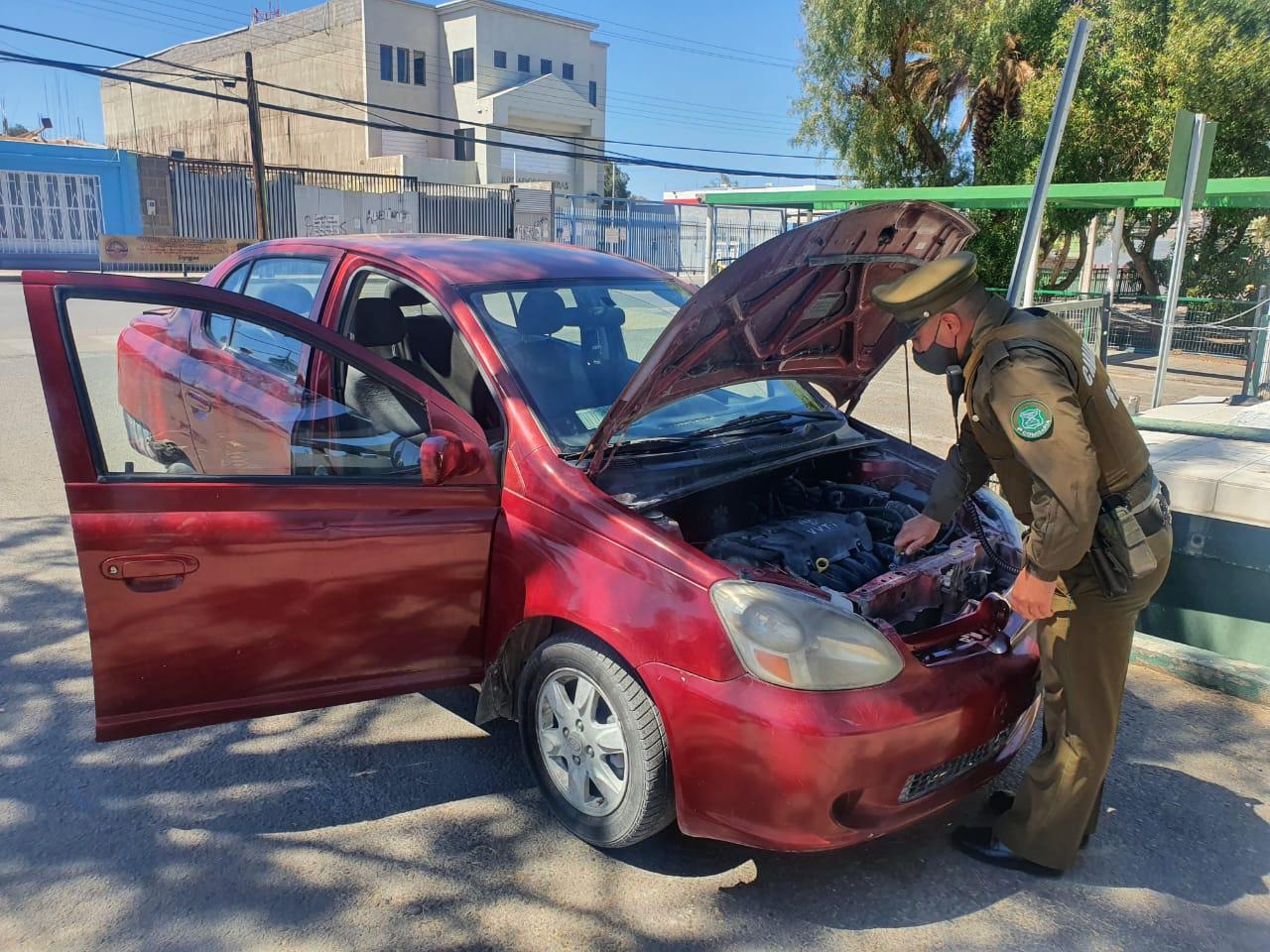 Detenidos por receptación de vehículo