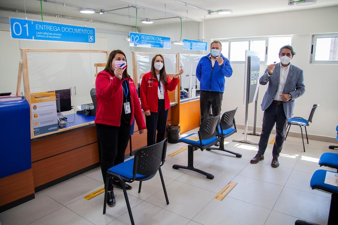 Registro Civil presenta nueva oficina en Tocopilla