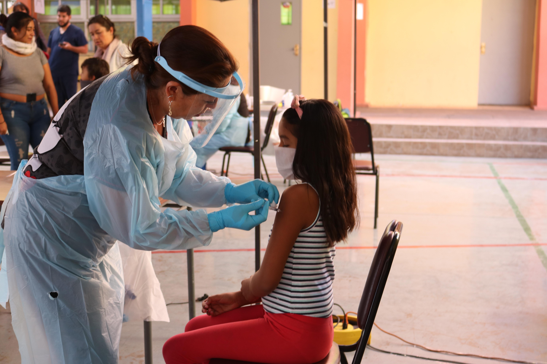 Calama alcanza el 84 por ciento de cobertura de la vacuna contra la influenza
