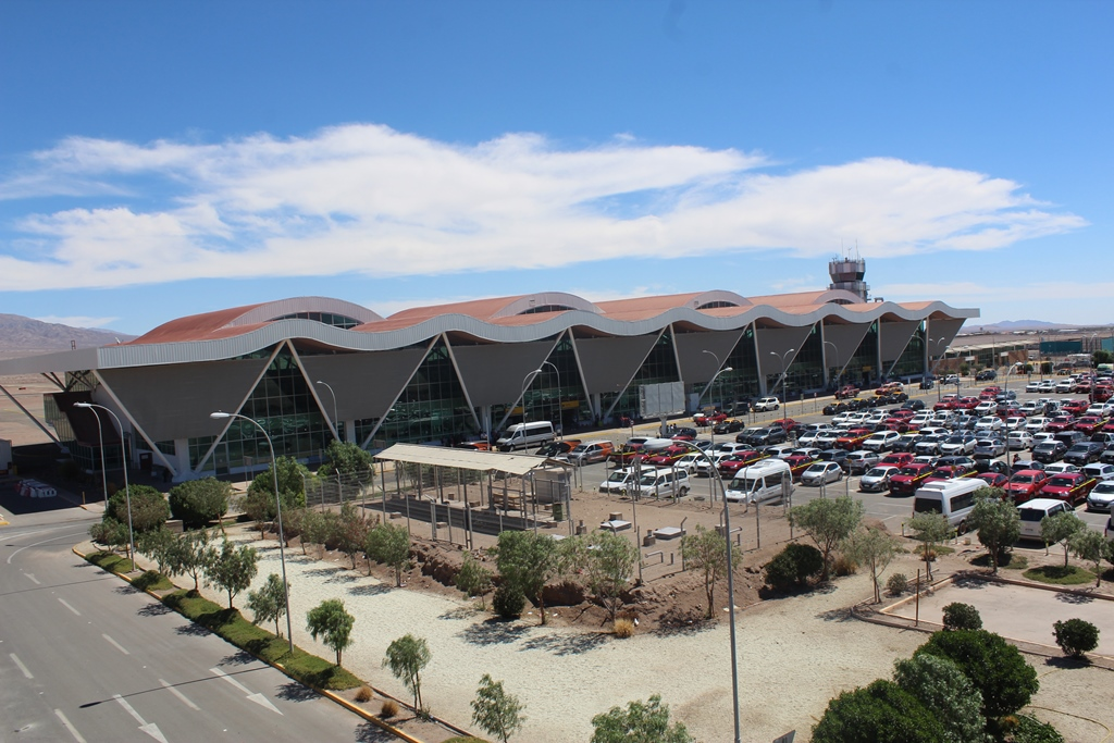Diario Oficial publica llamado a licitación de  Tercera Concesión Aeropuerto El Loa de Calama