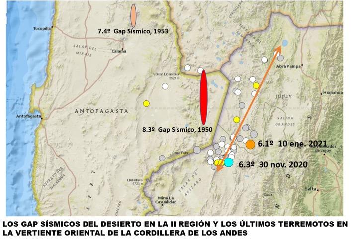Nuevo sismo reactiva las alertas en la Región de Antofagasta