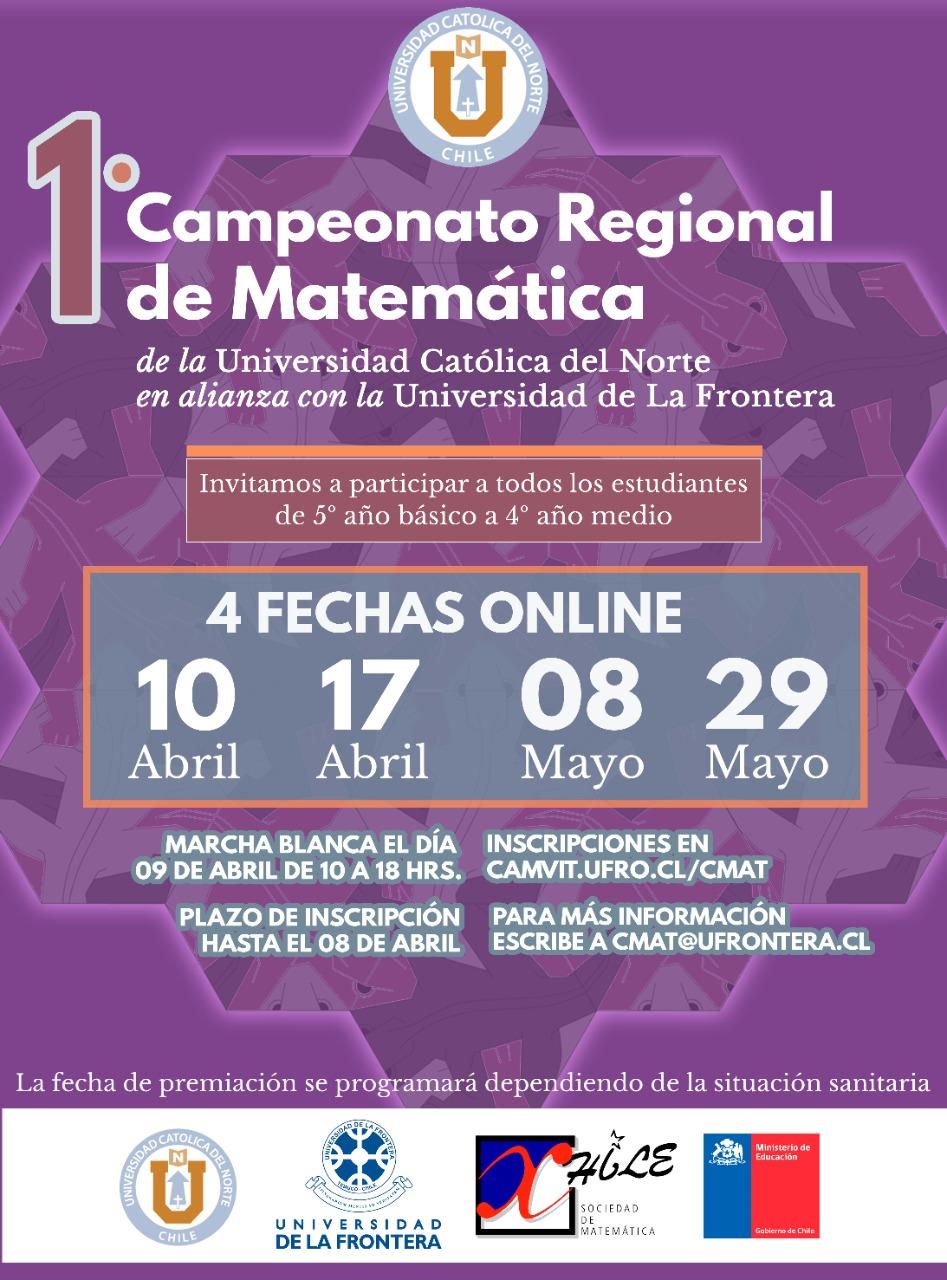 En marcha primer campeonato regional de matemáticas