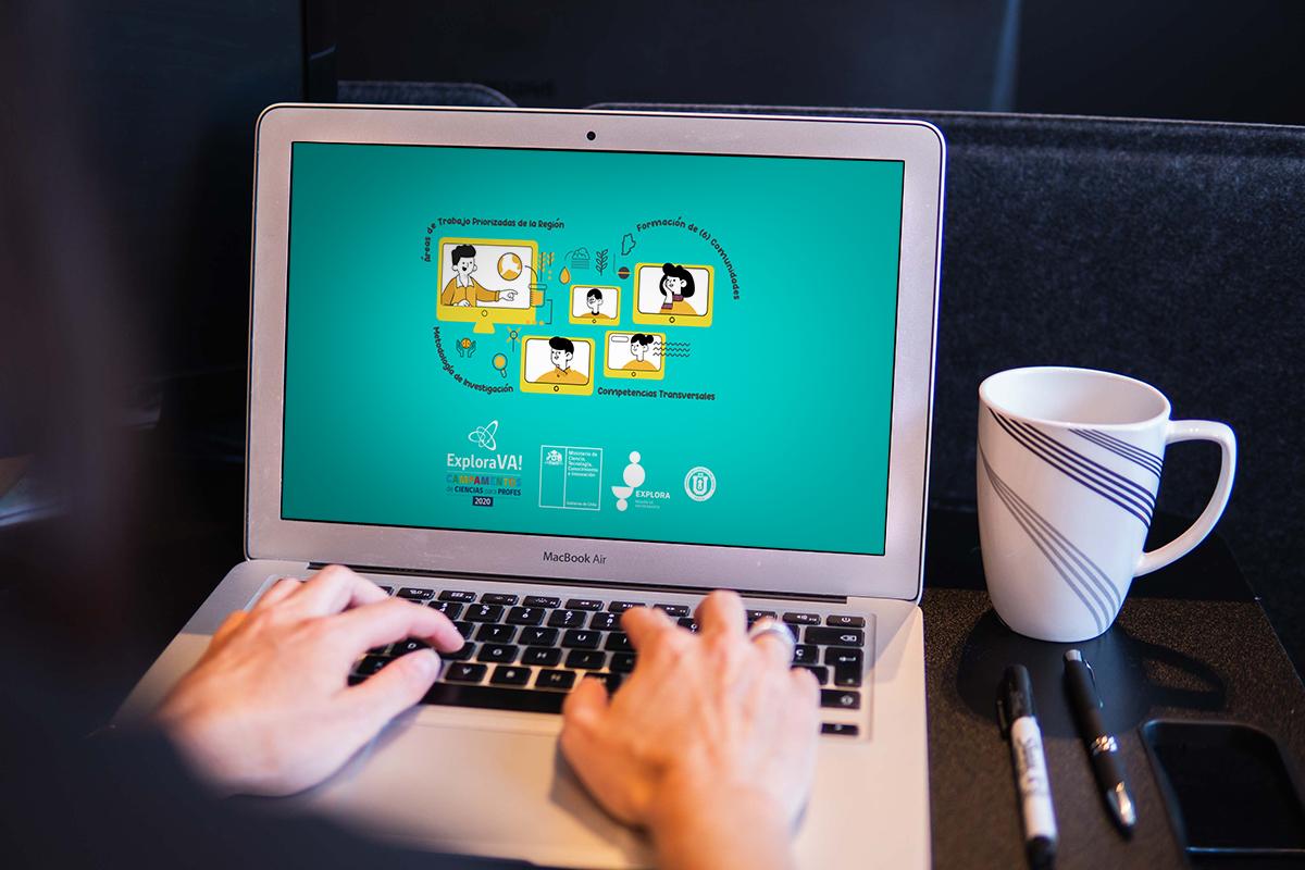 Campamento Explora Va! Virtual abre convocatoria a docentes y educadores/as de párvulos de la región