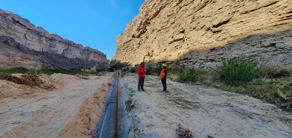 Estimados colegas MOP inspeccionó avances en obras de riego en valle de Lasana