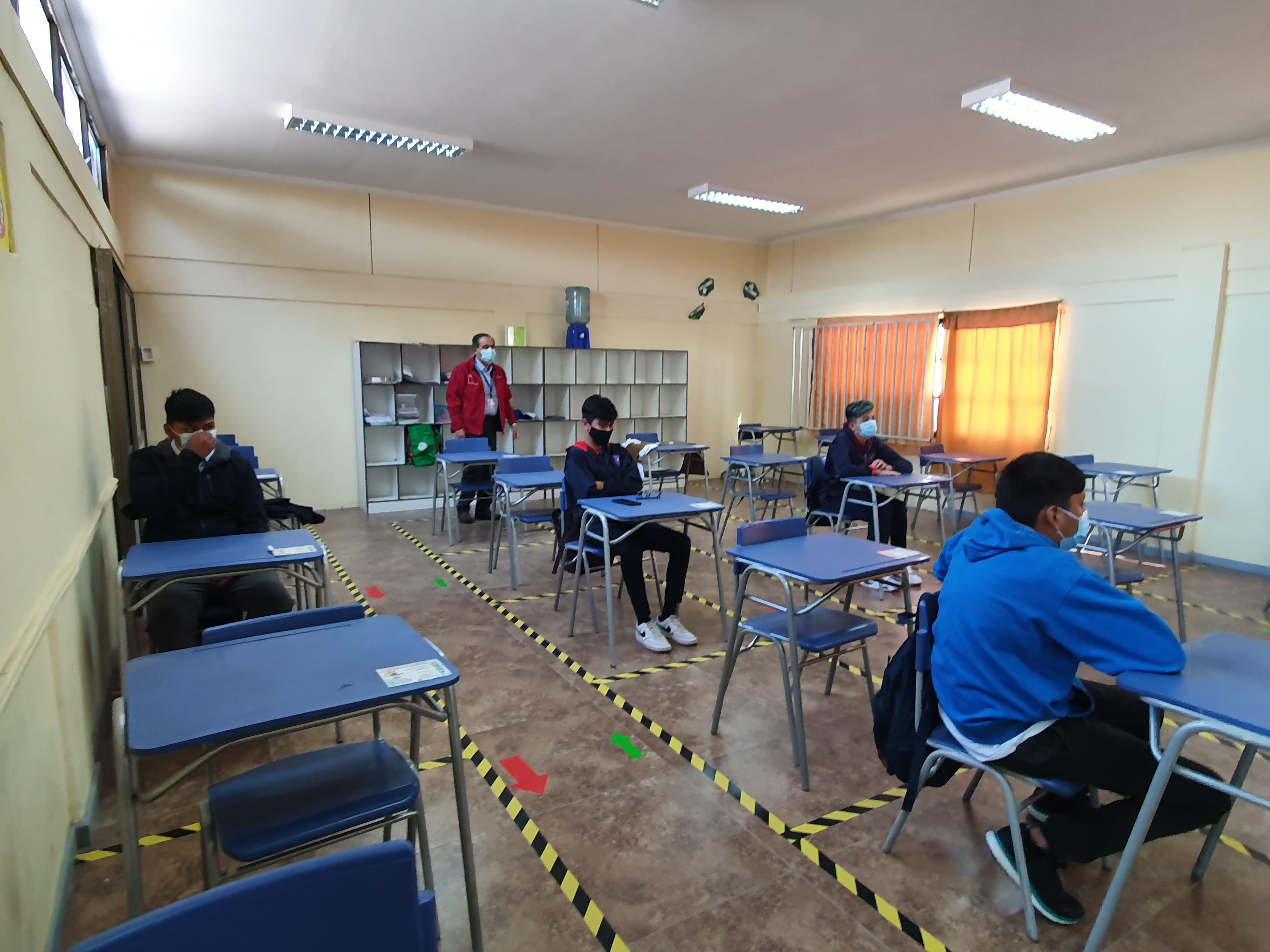Autoridades dan inicio oficial a un año escolar 2021 que estará marcado por un retorno a clases seguro y flexible