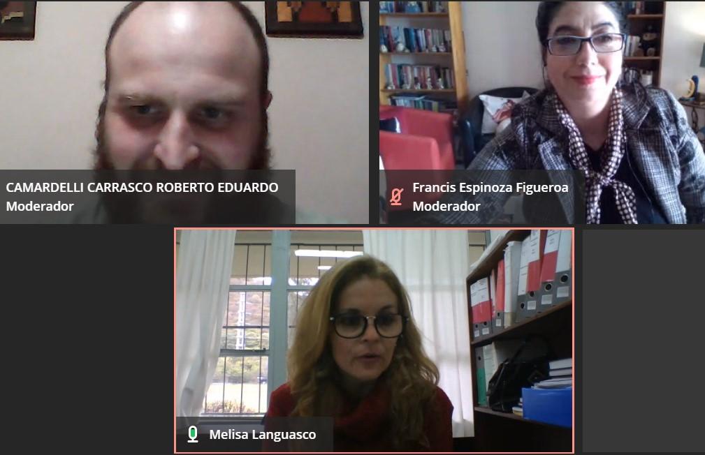 Periodismo congregó a estudiantes de Chile y Argentina en encuentro de Aprendizaje Colaborativo Internacional En Línea