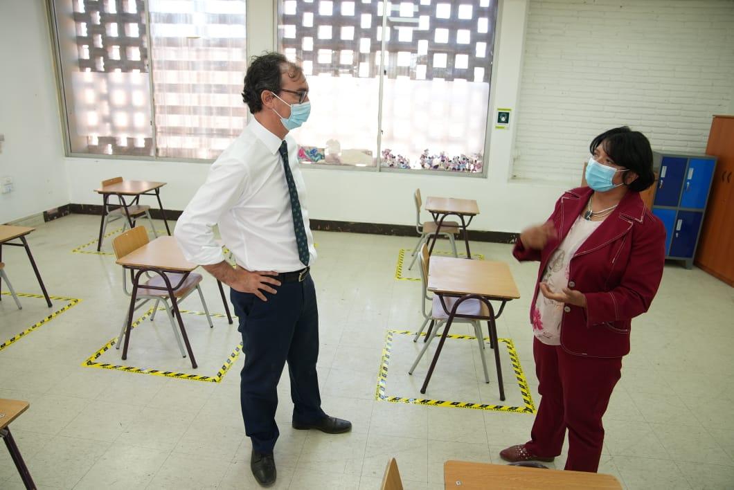 Mineduc entrega $467 millones para que colegios de la región adecúen su infraestructura para un retorno a clases presenciales