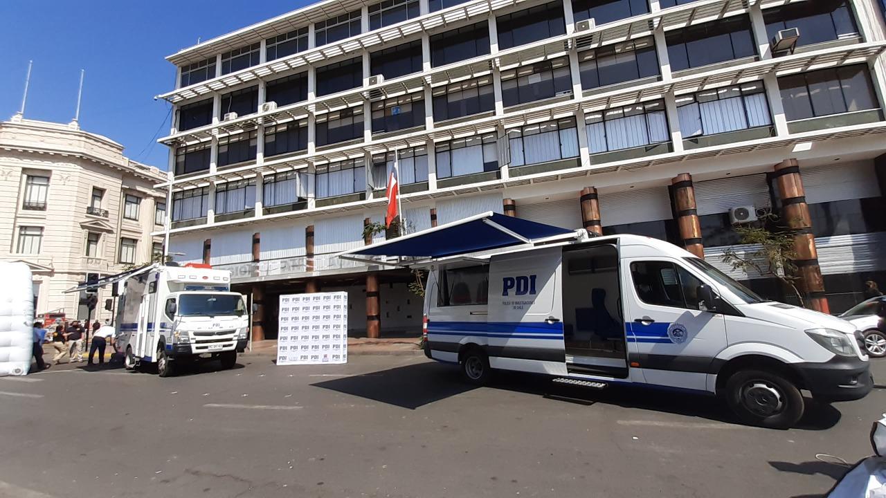 PDI Antofagasta recibe modernos vehículos para la investigación