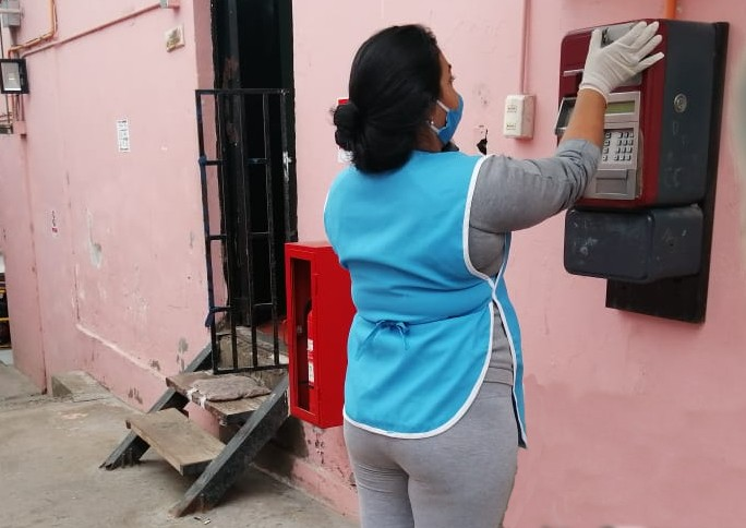 GENDARMERÍA HABILITA SISTEMA DE LLAMADAS GRATUITAS ENTRE INTERNOS Y FAMILIARES