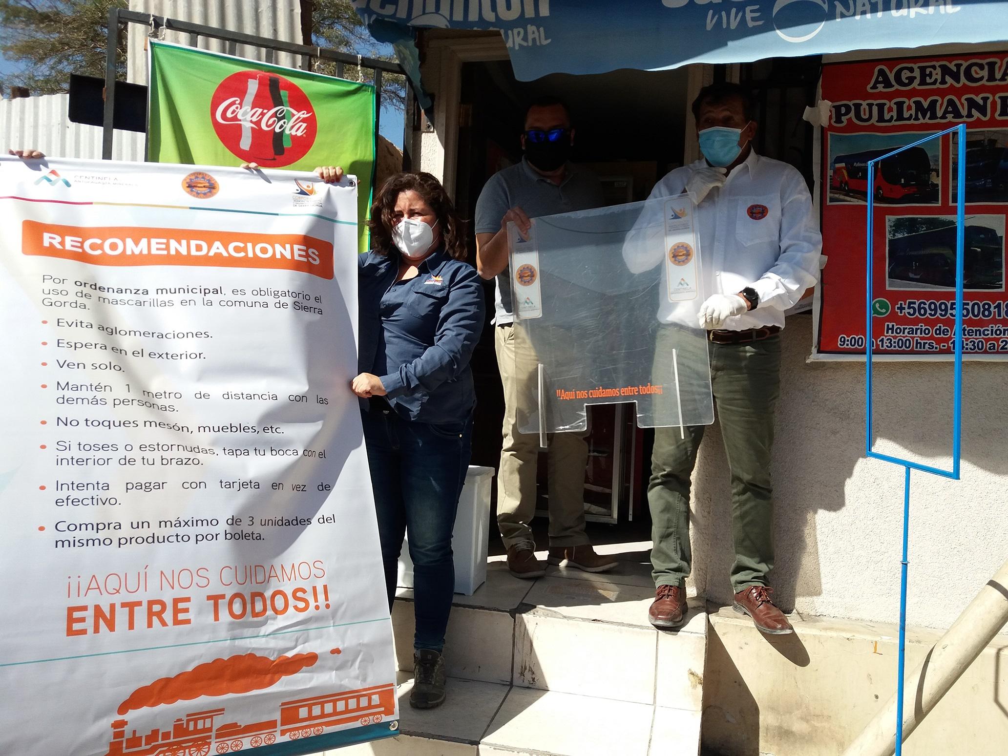 Comisión de Reactivación Económica de Sierra Gorda habilita más de 23 hospedajes y restaurantes